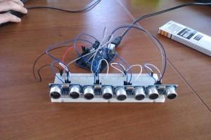 hc-sr04 - ультразвуковой датчик, схема подключения к arduino
