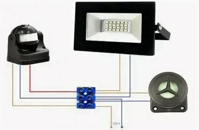 Датчик звука для включения света: устройство, подключение, выбор