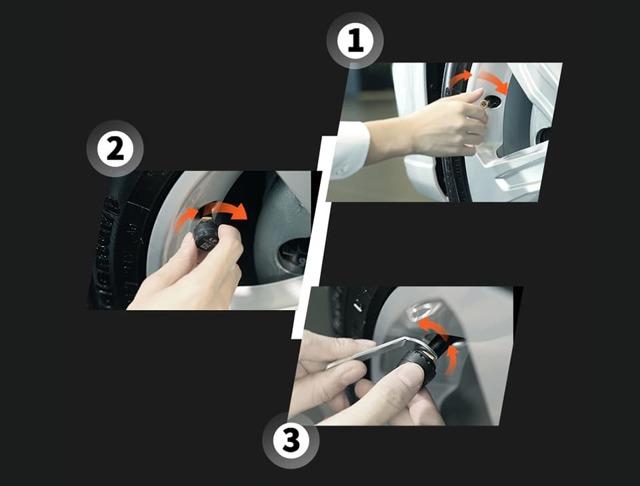 xiaomi 70mai tpms умная система контроля давления в шинах
