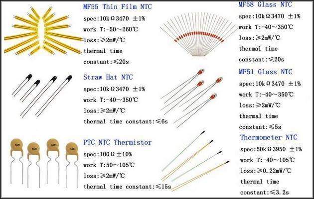 Датчик ntc: что это такое, виды, способы применения, схемы подключения