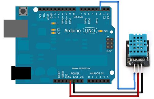 dht11: подключение к arduino, распиновка, характеристики
