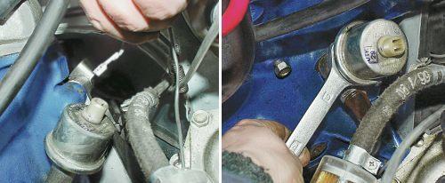 Датчик давления масла ВАЗ 2106: где находится, как заменить