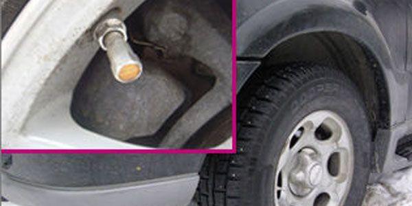 Как отключить датчики давления в шинах, сброс датчика давления
