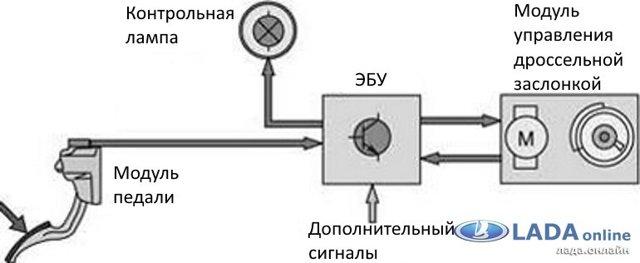 Датчик холостого хода Гранта: на 8 клапанов, где находится РХХ, замена