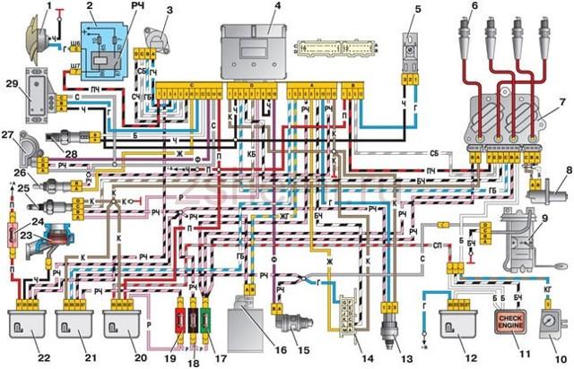 Реле бензонасоса: принцип работы, как проверить, где находится, схема