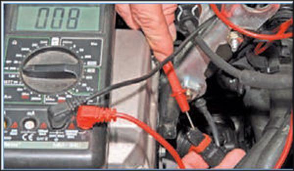 Датчик температуры Рено Логан: где находится, замена ДТ охлаждающей жидкости
