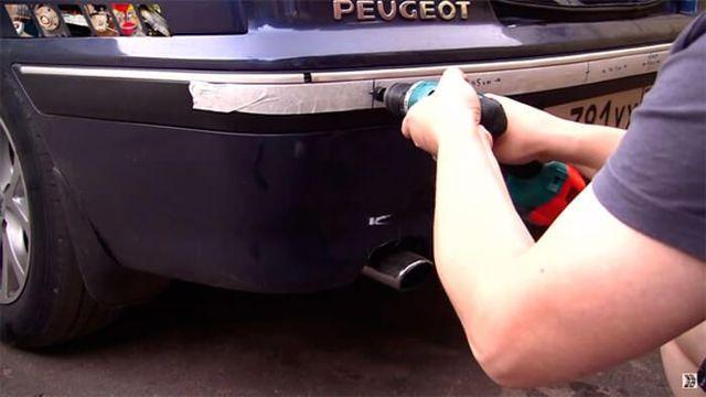 Установка парктроника своими руками на передний и задний бампер