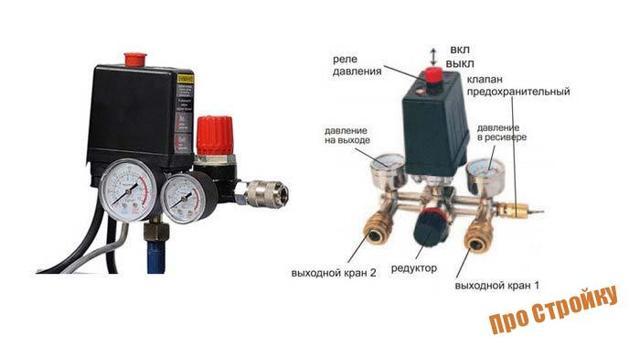 Реле давления для компрессора: принципы работы, подключение, регулировка, настройка, схема, как сделать своими руками