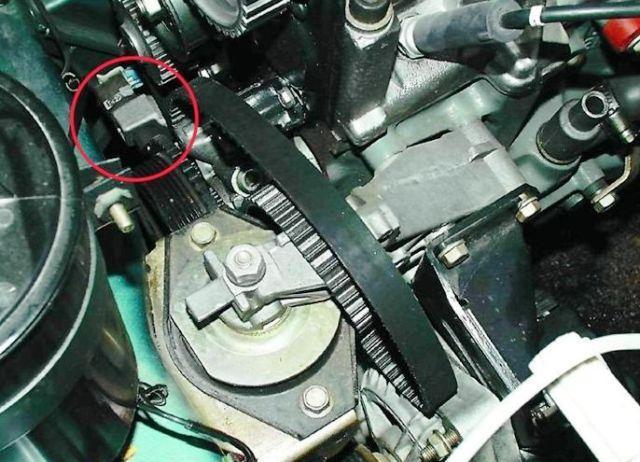 Датчик коленвала ВАЗ 2112: как проверить, где находится, замена