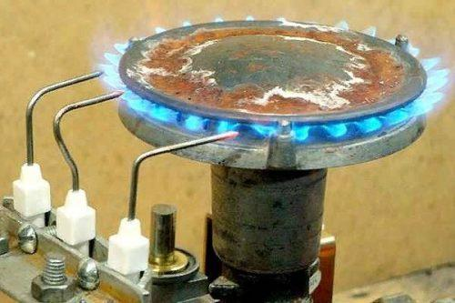 Датчик пламени горелки: разновидности, конструкция, применение